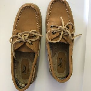 Boat shoes by Bass